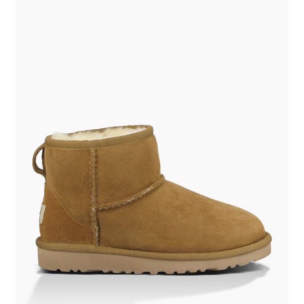 CHEAP UGG YOUTH CLASSIC MINI CHESTNUT ONLINE