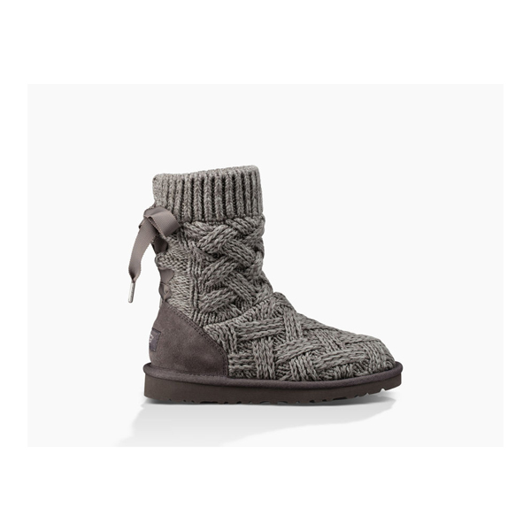 CHEAP UGG KIDS' LOTTIE HEATHERED CHARCOAL ONLINE