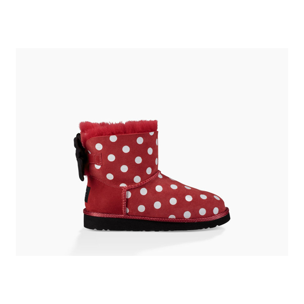 CHEAP UGG YOUTH SWEETIE BOW RED ONLINE