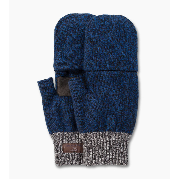 CHEAP UGG MEN\'S MARLED FLIP MITTEN NAVY M ONLINE