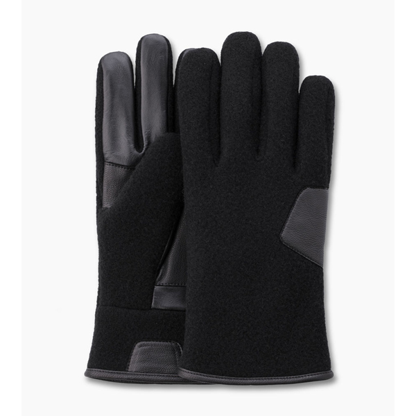 CHEAP UGG MEN'S FABRIC SMART GLOVE BLACK ONLINE