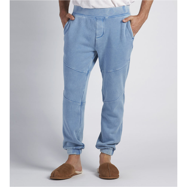 CHEAP UGG MEN'S BRADI WASHED JOGGER PANTS PAJAMA BLUE ONLINE