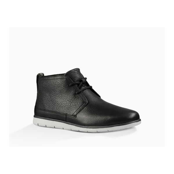 CHEAP UGG MEN'S FREAMON LEATHER BLACK ONLINE