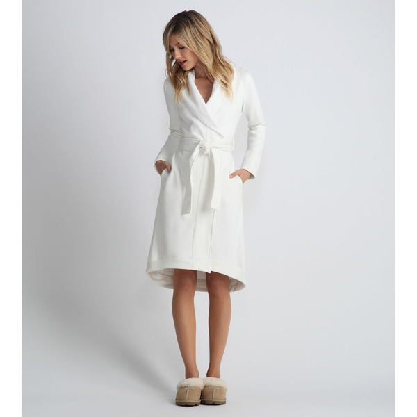 CHEAP UGG WOMEN'S DUFFIELD ROBE CREAM ONLINE