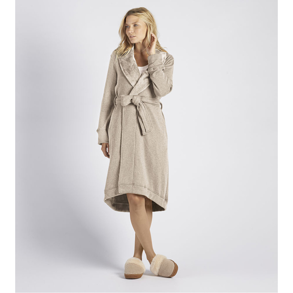 CHEAP UGG WOMEN'S DUFFIELD ROBE OATMEAL HEATHER ONLINE