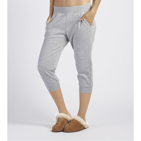 CHEAP UGG WOMEN'S HADLEY JOGGER PANTS SEAL HEATHER ONLINE