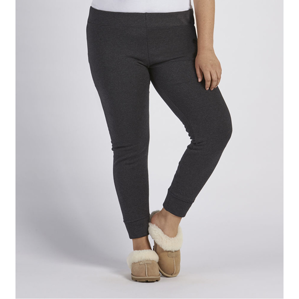 CHEAP UGG WOMEN'S GOLDIE PLUS LEGGINGS BLACK BEAR HEATHER ONLINE