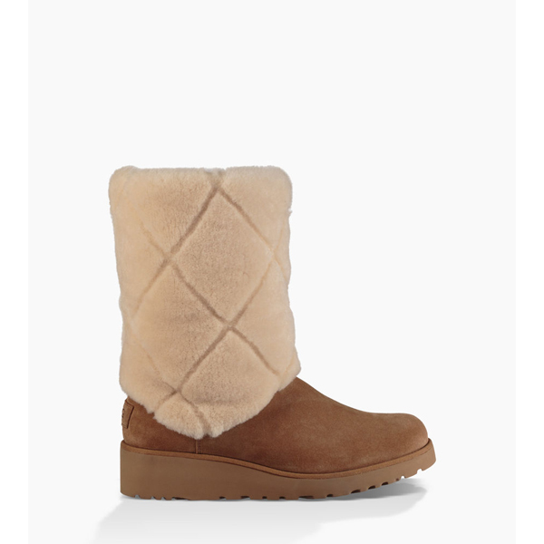 CHEAP UGG WOMEN'S ARIELLA LUXE DIAMOND CHESTNUT ONLINE