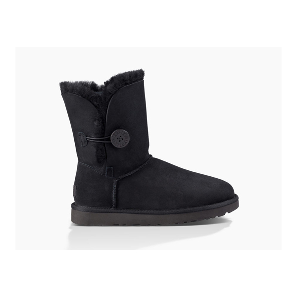 CHEAP UGG WOMEN'S BAILEY BUTTON II BLACK ONLINE