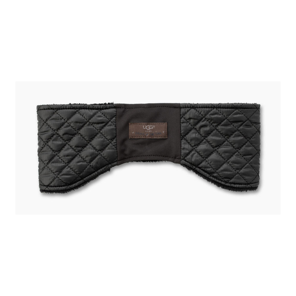 CHEAP UGG WOMEN'S QUILTED HEADBAND BLACK MULTI ONLINE