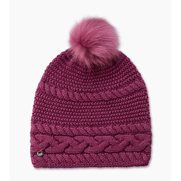 CHEAP UGG WOMEN'S CABLE OVERSIZED BEANIE BOUGAINVILLEA M ONLINE