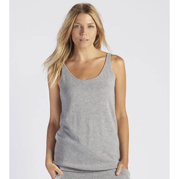 CHEAP UGG WOMEN'S MADELYN CASHMERE TANK TOP GREY HEATHER ONLINE