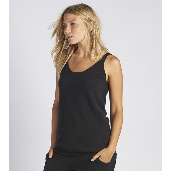 CHEAP UGG WOMEN'S MADELYN CASHMERE TANK TOP BLACK ONLINE
