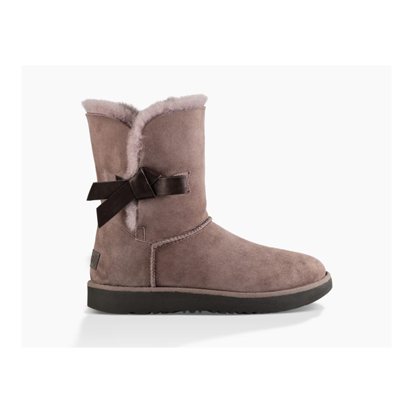 CHEAP UGG WOMEN'S CLASSIC KNOT STORMY GREY ONLINE
