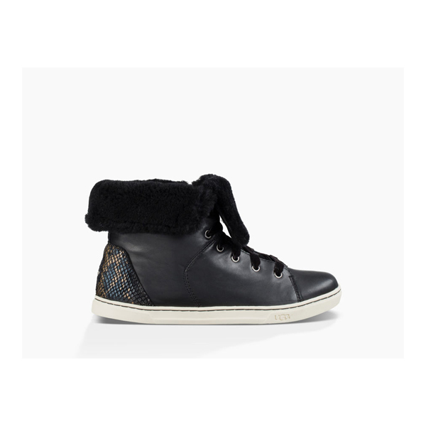 CHEAP UGG WOMEN'S CROFT EXOTIC VELVET BLACK ONLINE