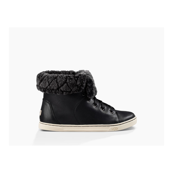 CHEAP UGG WOMEN'S CROFT LUXE QUILT BLACK ONLINE